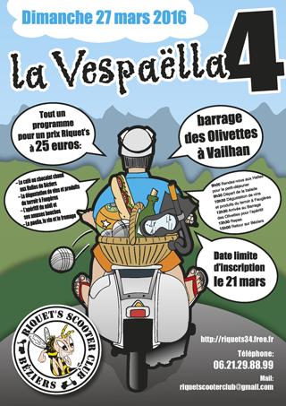 La Vespaella IV – Dimanche 27 mars 2016