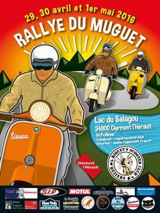 Le Rallye du Muguet 2016 – Du vendredi 29 avril au dimanche 1er mai 2016