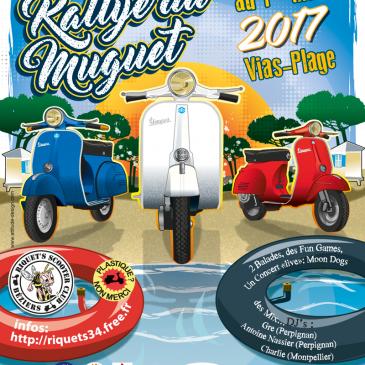 Le Rallye du Muguet 2017 – Du vendredi 28 avril au dimanche 1er mai 2017