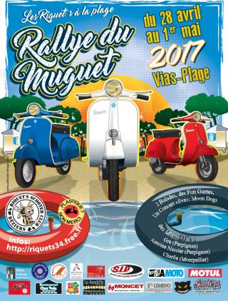 Le Rallye du Muguet 2017 – Du vendredi 28 avril au lundi 1er mai 2017