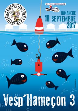 La Vesp'Hameçon III – Dimanche 10 septembre 2017