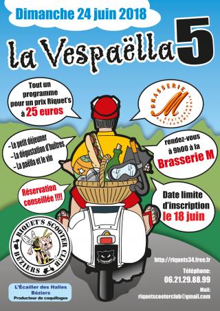 La Vespaëlla 5 -Dimanche 24 juin 2018