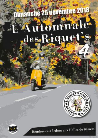 L'automnale des Riquet's 4 – Dimanche 25 novembre 2018