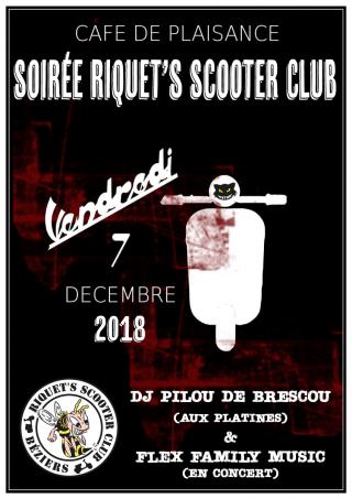 Assemblée Générale du Riquet's Scooter Club – Vendredi 7 décembre 2018