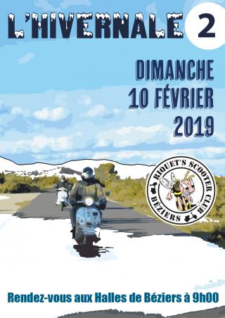 L'hivernale 2 – Dimanche 10 février 2019